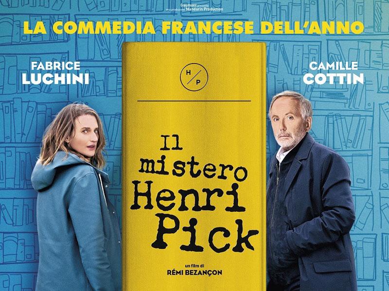 IL MISTERO HENRI PICK. L'emozionante commedia francese con Luchini e Cottin