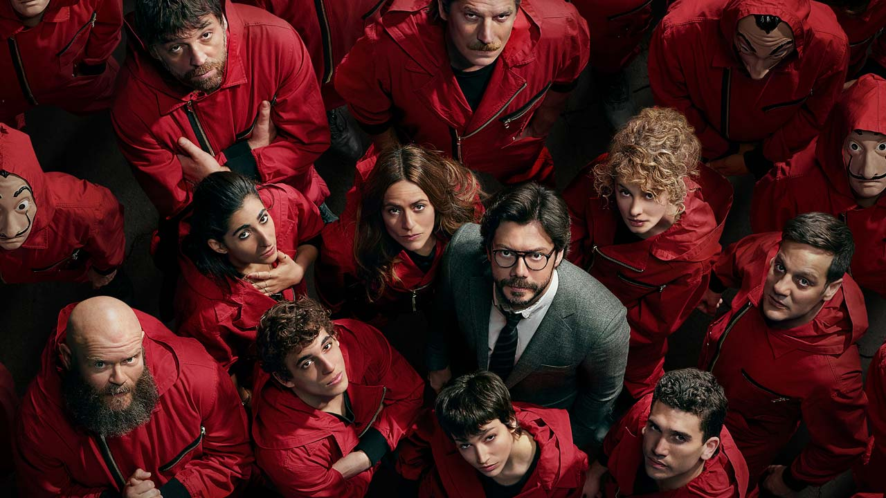 LA CASA DI CARTA. Countdown alla IV serie Netflix, che ha incollato alla TV