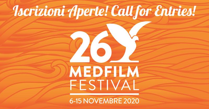 MEDFILM FESTIVAL dal 6 al 15 novembre. Iscrizioni aperte fino al 6 settembre