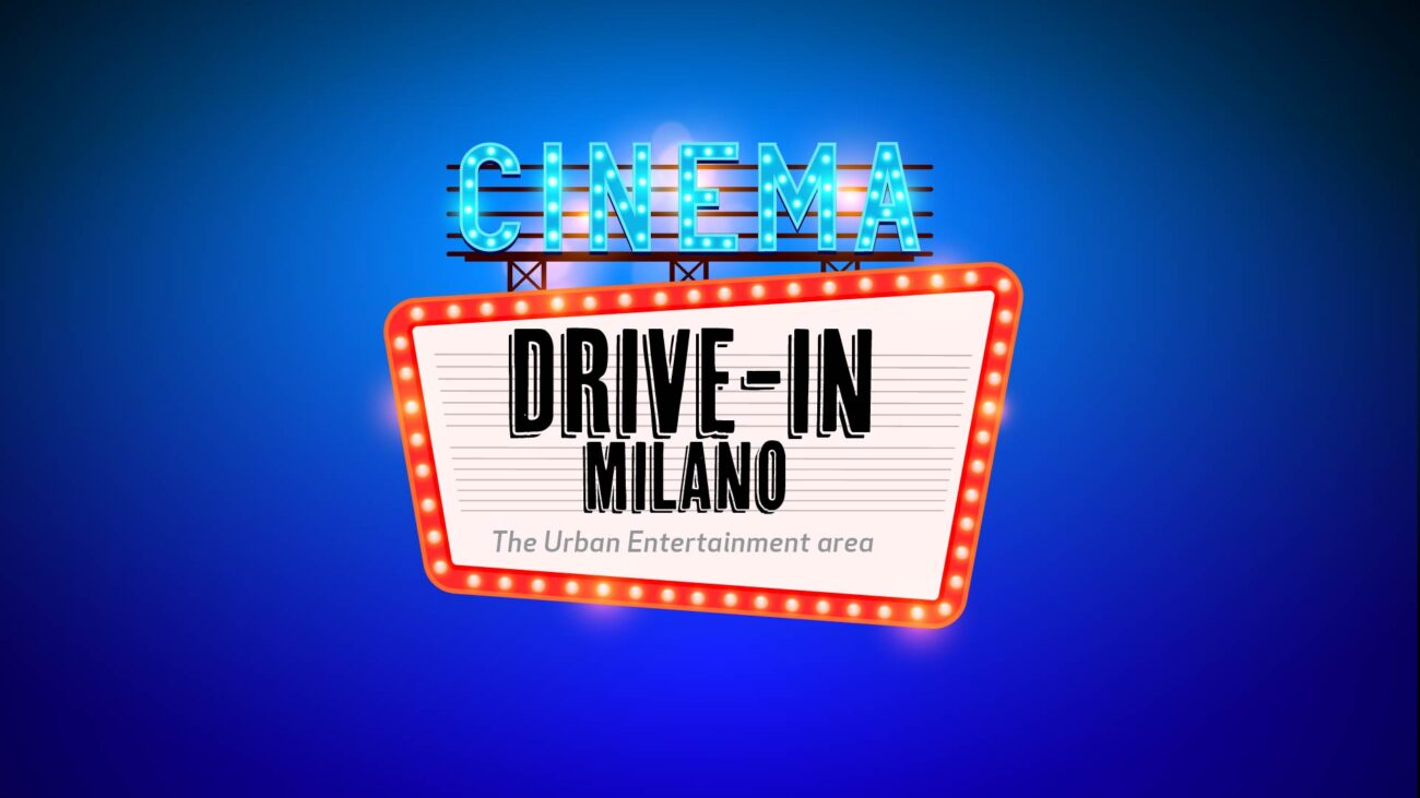 DRIVE-IN MILANO. I classici del cinema, all'aperto a soli 2 euro per solidarietà