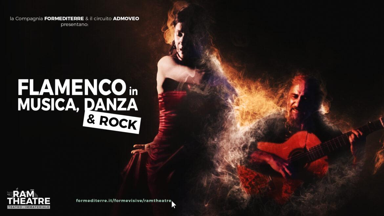 FLAMENCO in musica, danza & rock, streaming con RAM Theatre