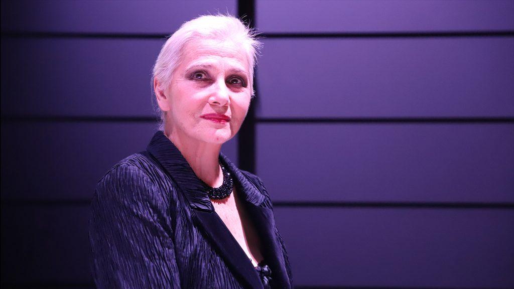 UNA VITA CHE STO QUI. Ivana Monti in scena al Franco Parenti di Milano