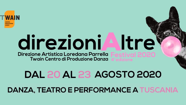 DIREZIONIALTRE FESTIVAL 2020. A Tuscania, la IV edizione di danza, teatro e performance