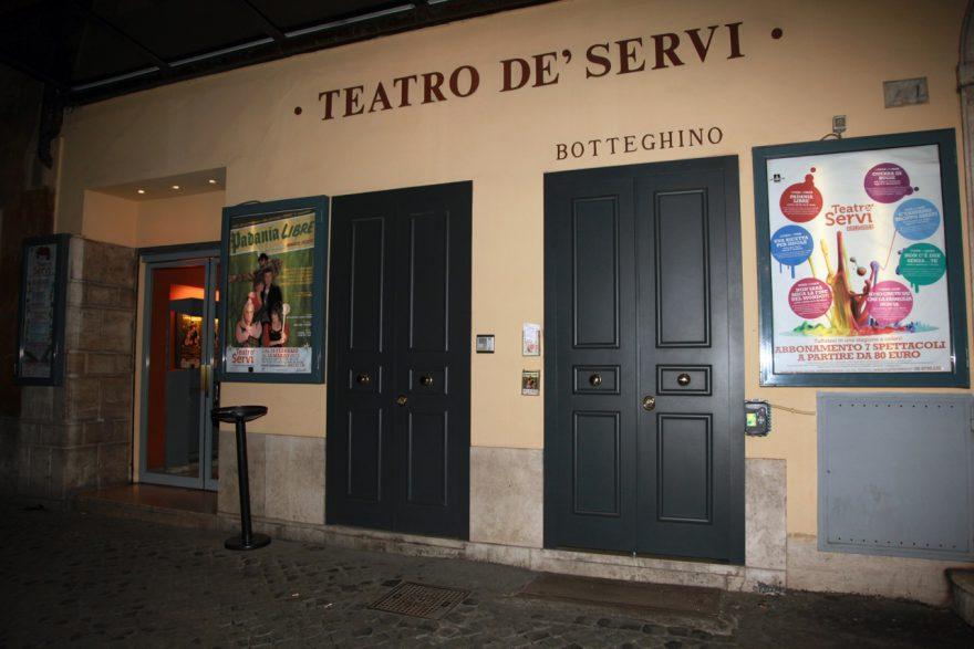 ASSAGGI DI STAGIONE. Il Teatro dè Servi di Roma riparte con un trailer show