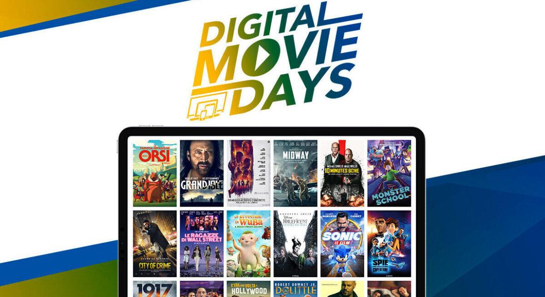 DIGITAL MOVIE DAYS, l'iniziativa di UNIVIDEO con film a prezzi ridotti