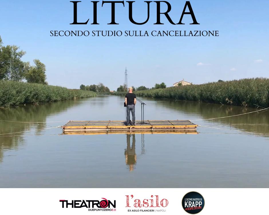 LITURA- SECONDO STUDIO SULLA CANCELLAZIONE. 40 artisti in maratona streaming