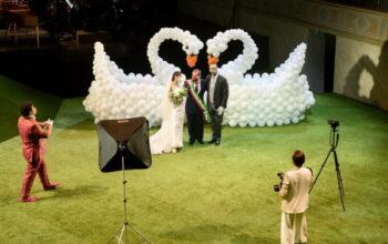 Le nozze in villa