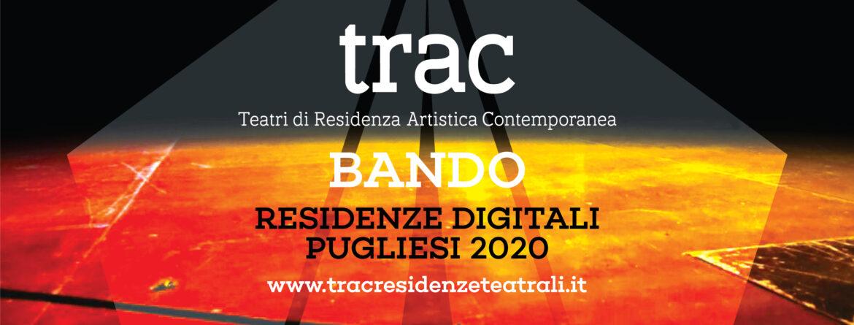 TRAC. Bando per 5 Residenze Digitali in Puglia