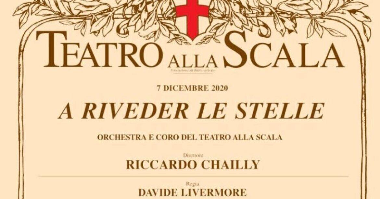 A RIVEDER LE STELLE, la prima della Scala in tv e online
