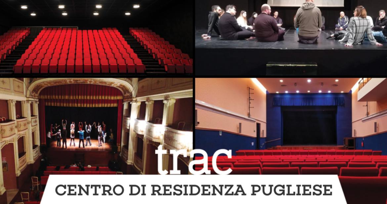 TRAC: 15 residenze teatrali in Puglia tra febbraio e marzo