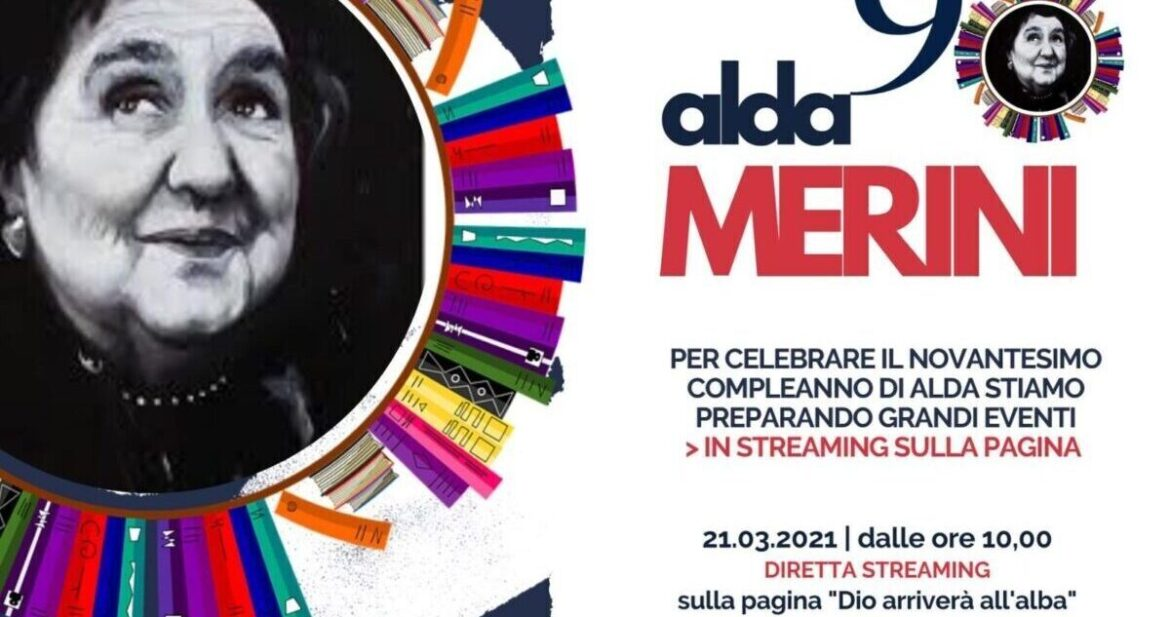 ALDA MERINI. Omaggio streaming: Dio arriverà all'alba