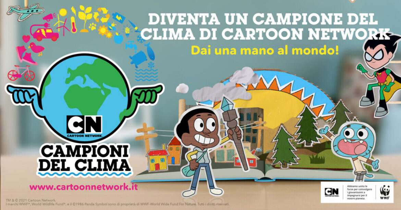 CARTOON NETWORK: la nuova iniziativa per i più piccoli sul Clima