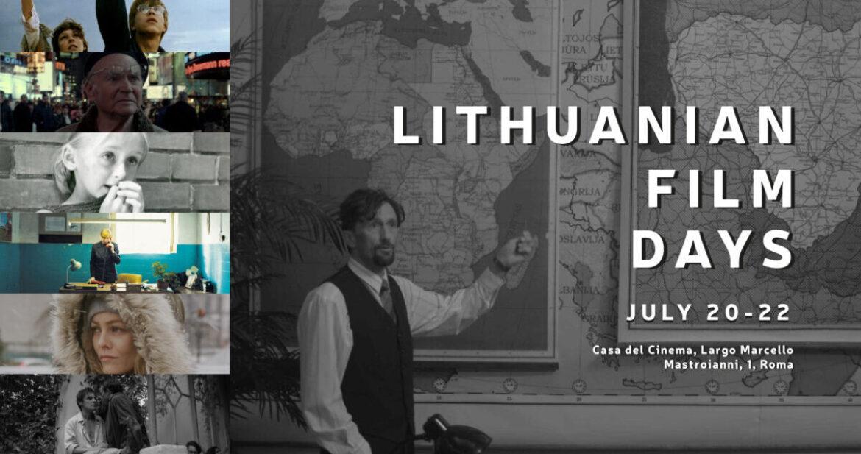 LITHUANIAN Film Days, dal 20 al 22 luglio alla Casa del Cinema di Roma