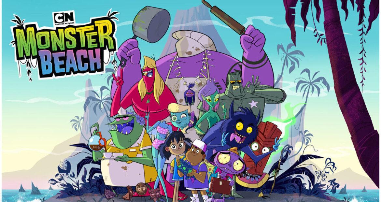 MONSTER BEACH: la serie animata su Cartoon Network dal 5 luglio