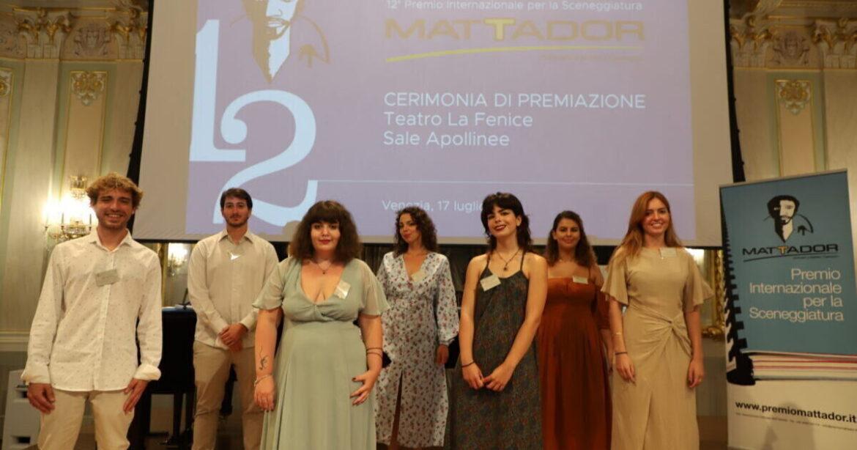 MATTADOR. Premiati i vincitori miglior sceneggiatura della 12° edizione