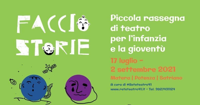 FACCIO STORIE. Torna in Basilicata il teatro per bimbi e famiglie