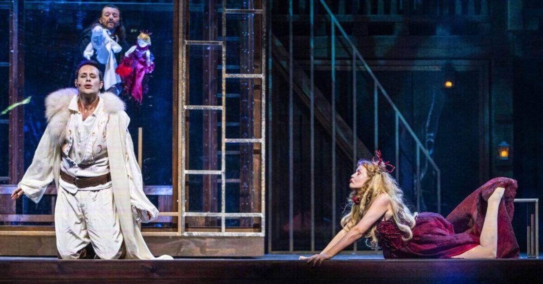VENERE E ADONE di Shakespeare al Globe di Roma