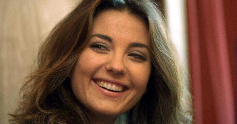 Vanessa Gravina a Celano (AQ) per la serata che premia chi lotta contro l'autismo