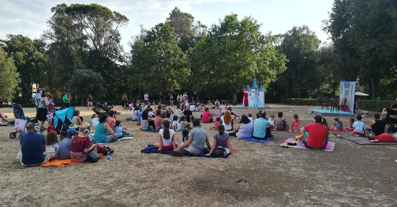 IL GIARDINO DELLE FIABE, teatro itinerante per bambini de Le Chat Noir