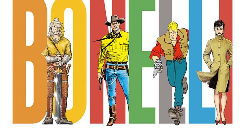 BONELLI STORY. 80 anni a fumetti. A Milano la mostra degli ideatori di Tex Willer