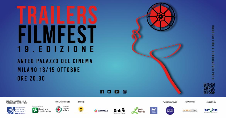 TRAILERS FILMFEST, all'Anteo di Milano dal 13 al 15 ottobre